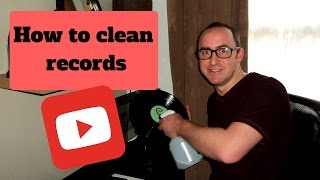 How To Clean Records  - Cheap and Effective