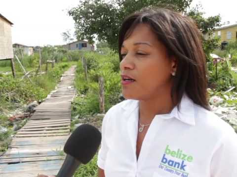 Belize Bank, Mercy Kitchen Share Christmas with Families in Gungulung