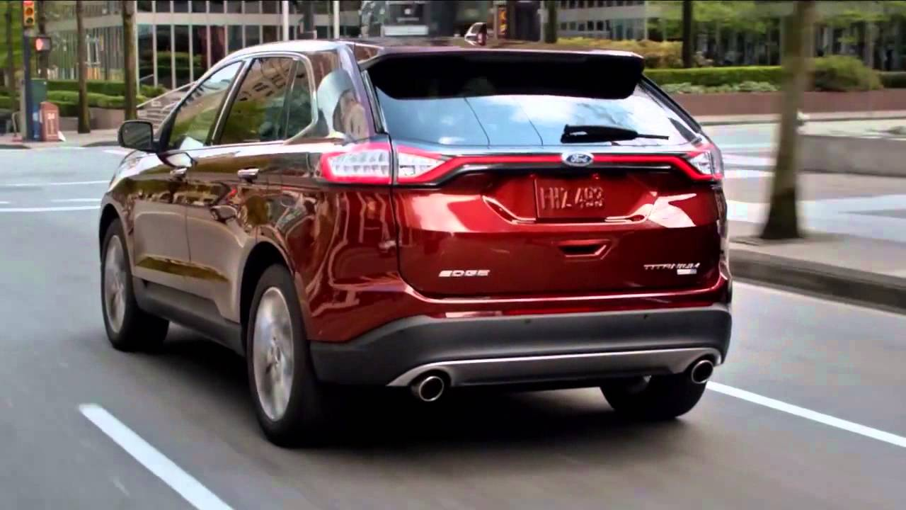 All New Ford Edge Commercial Usa