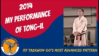 Taekwon-Do Tong il  por Manuel Adrogué, 2014