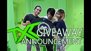 Download lagu TXC GIVEAWAY ANNOUNCEMENT MP3