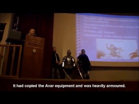 Lecture on Byzantine Army at Athens War Museum  9/2015 (Eng. subs)