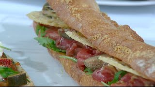 Le sandwich devient gastronomique / reportage
