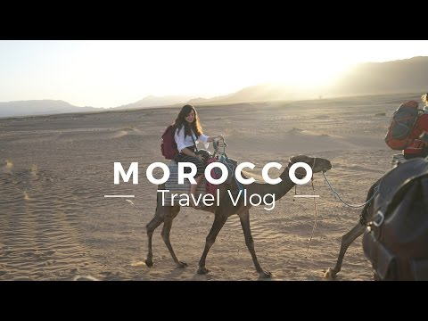 Exploring Morocco with Louis!