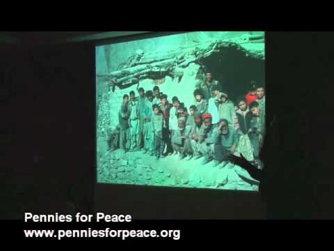 """""""Building Schools & Peace One Penny at a Time"""" Pennies for Peace Presentation"""