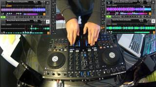 Traktor Kontrol S4: The Full Rules Of Dada (Sine Language Live Mashup)