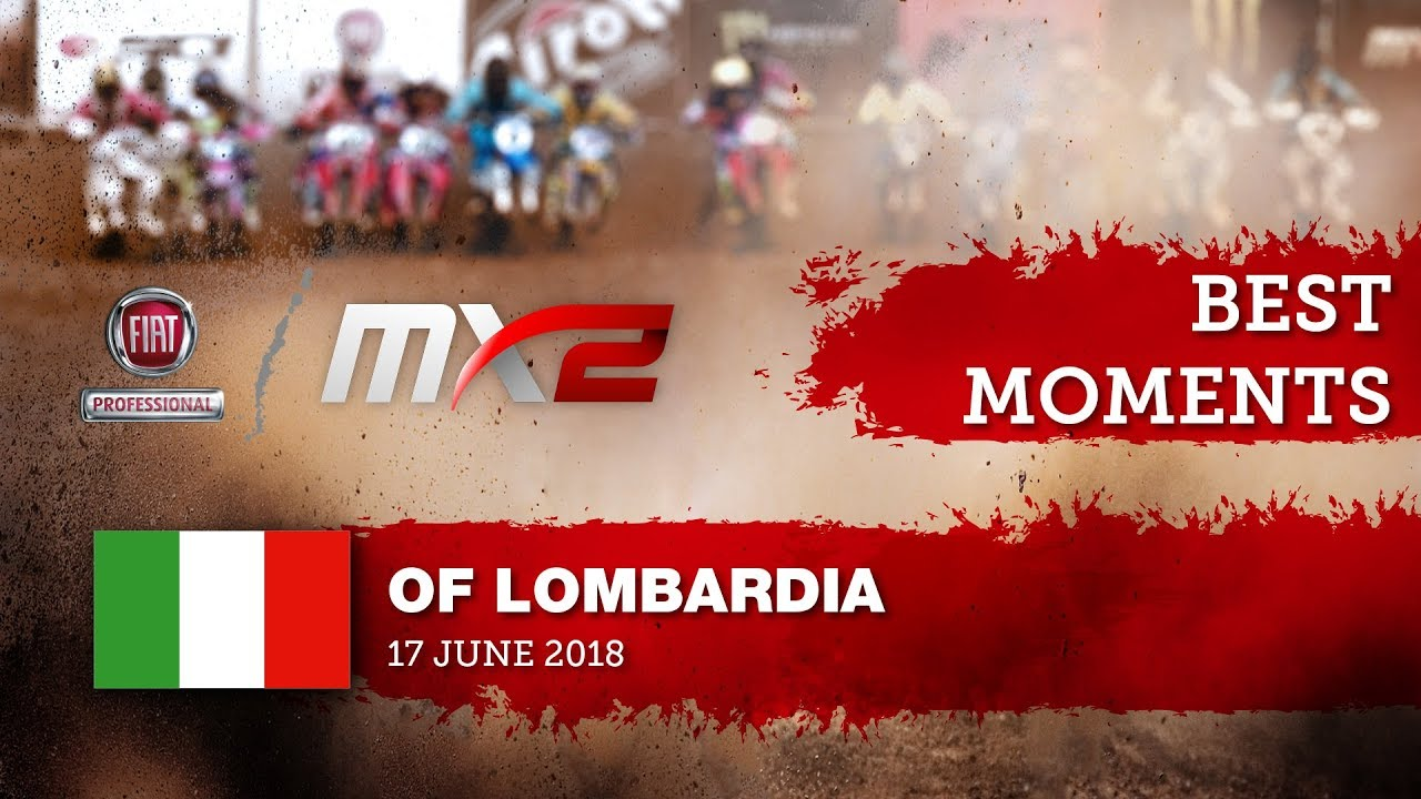 MX2 Best Moments - FIAT Professional MXGP of Lombardia 2018 #motocross