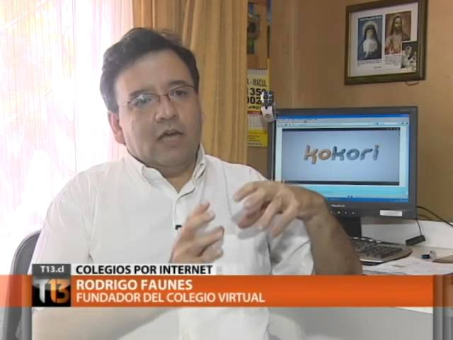 Entrevista en Canal 13 de Televisión.