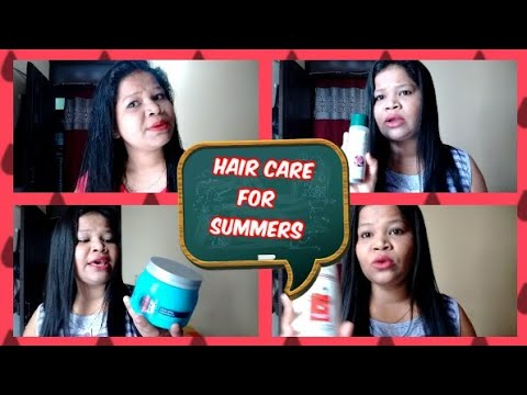 Summer Hair care for silky shiny hairs | Summertime Hair Care | Haircare tips in hindi | NIKKIE