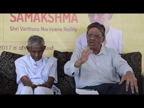 An interaction with Dr. Rajagopal, Entomologist, Bangalore