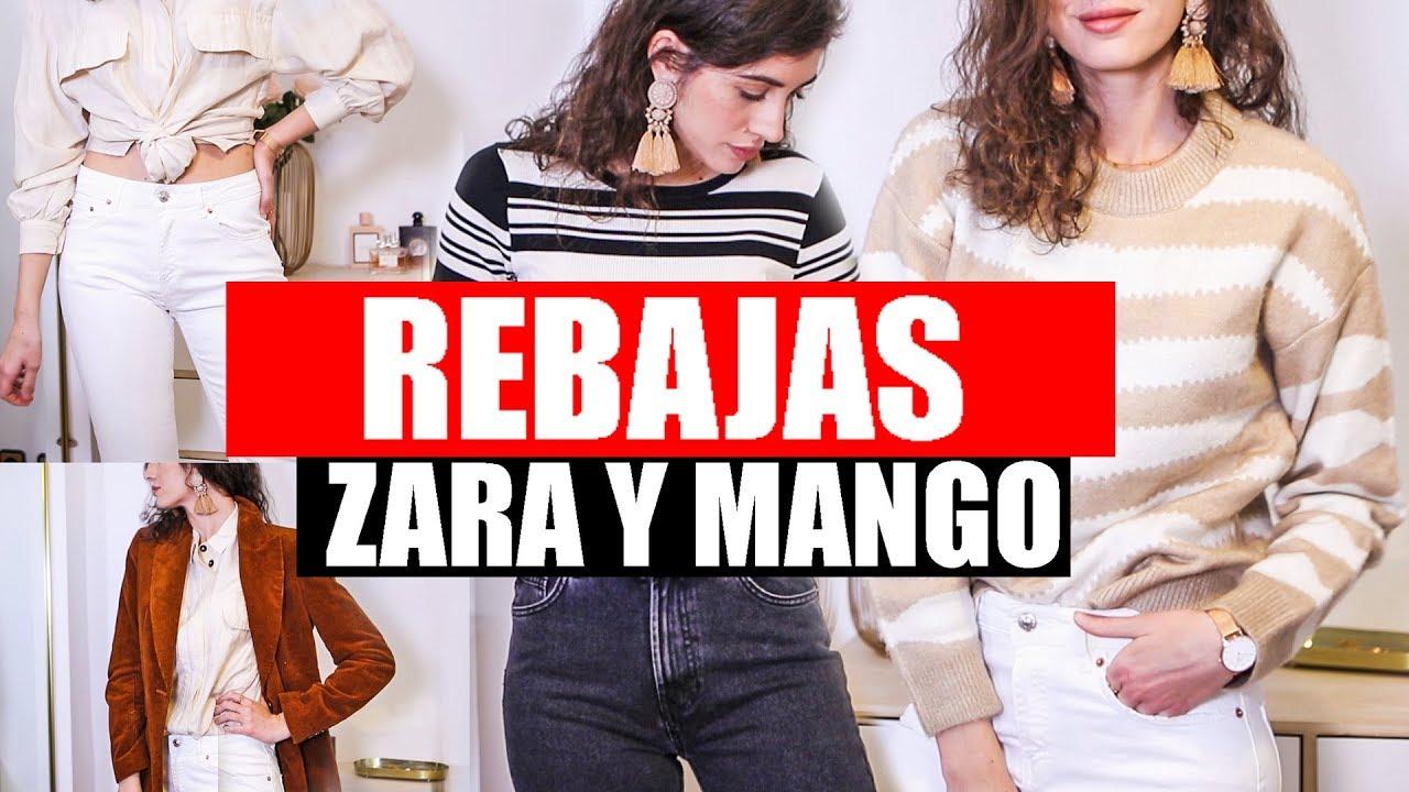 mejores marcas venta al por mayor estilo máximo SUPER HAUL de ROPA de ZARA Y MANGO (REBAJAS 2019) | Prendas Básicas