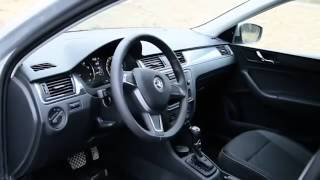 Тест-драйв Skoda Rapid.  Александр Морозов в Европа Авто