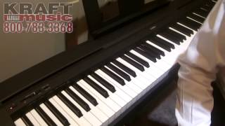 Kraft Music - Yamaha P45 Digital Piano NAMM 2015