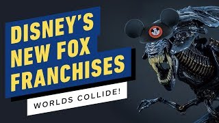 How Disney Could Handle Fox's Movie and TV Franchises - IGN Now