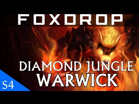 [S4] Diamond Jungle WARWICK - Feral Flare - Full Gameplay Commentary