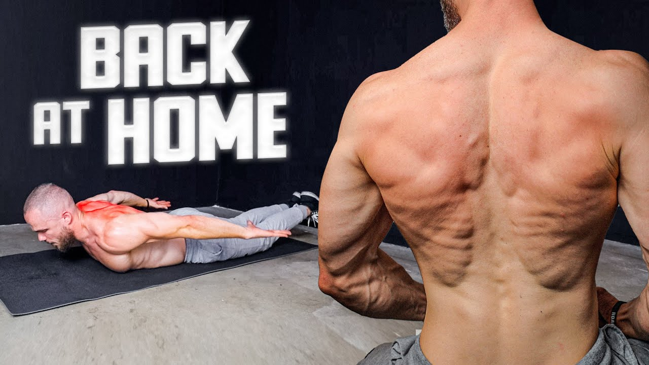 DO THIS for Back at Home | NO Equipment Workout