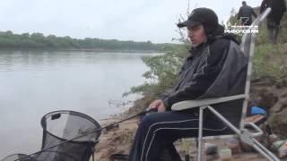 """Ловля леща и густеры на фидер.  Река Ока, Низково. Сайт """"РыболовНН""""."""