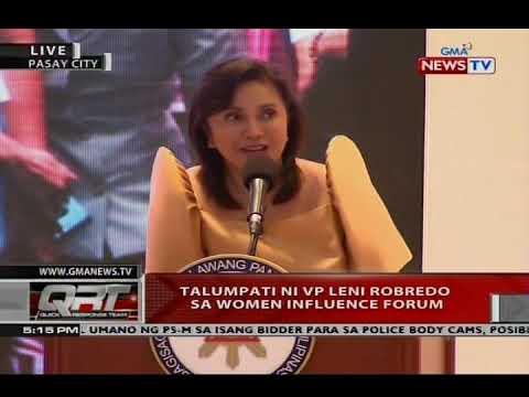 NTVL: Talumpati ni VP Leni Robredo