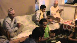 Bhajan by Uddhav Dahal,Madhav koirala and Friends