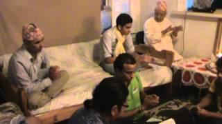 Bhajan by Uddhav Dahal,Madhav koirala and Friends