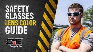 Safety Glasses Lens Color Guide - GME Supply