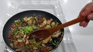 잔멸치 표고버섯 .마늘…