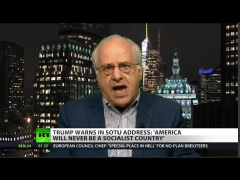 Richard Wolff takes on Trump on Socialism