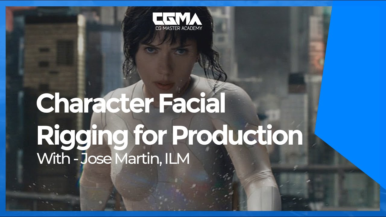 CGMA - Character Facial Rigging for Production