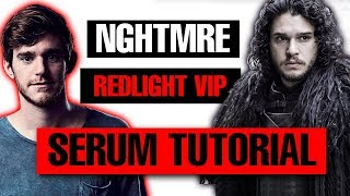 How To - NGHTMRE &amp AAP FERG Redlight VIP Full Drop Remake Tutorial [FREE DOWNLOADS]