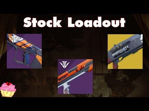 Stock Loadout | Destiny 2 PvP | Nightshade, Wishbringer, Acrius