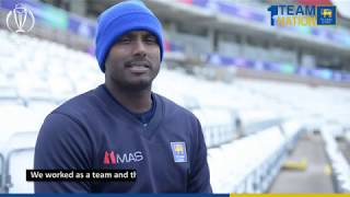 Angelo Mathews on victory against England