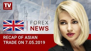 InstaForex tv news: 07.05.2019:  AUD surges amid soft RBA rhetoric (AUD, USD, USDX, JPY)