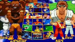 Fightcade - Marvel Super Heroes Vs Street Fighter - Jeff(USA) Vs PlasmaSlashX(USA)