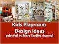 Cool Playroom Ideas - Kids Play Room Design Ideas - Best Kids Toy Rooms