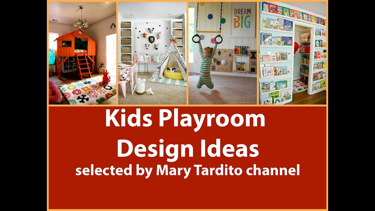 7 Inspiring Kid Room Color Options For Your Little Ones: Kids Play Room Design Ideas