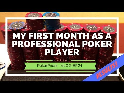 My First Month as a Professional Poker Player in Vegas - Poker Income Results