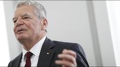Gauck über schönsten Satz deutscher Politikgeschichte