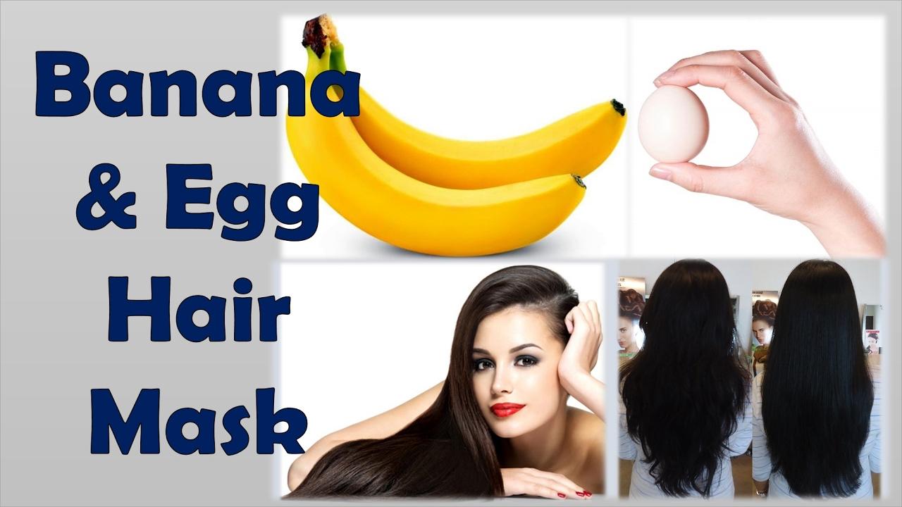 Banana Egg Hair Mask Amazing Results U Should Try Atleast
