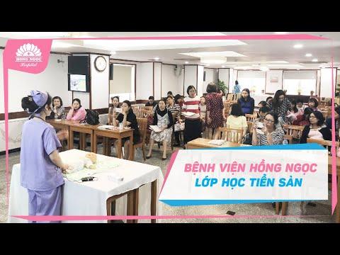 """Lớp học tiền sản miễn phí """" YOGA CHO BÀ BẦU """" tại BVĐK Hồng Ngọc.mpeg"""