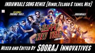 India Waale Song Remix | Telugu, Hindi & Tamil Mix | Done by Sooraj Innovatives