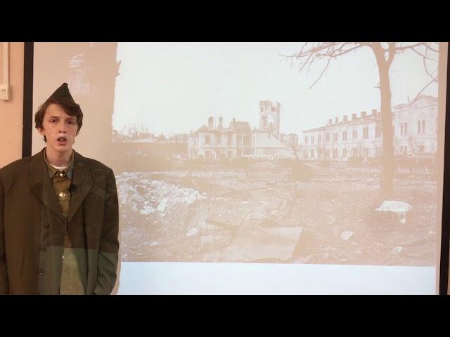 Изображение предпросмотра прочтения – ВладимирЛитвинов читает произведение «Майор привез мальчишку на лафете» К.М.Симонова