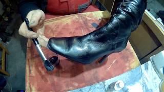 как легко и просто в домашних условиях перекрасить (покрасить) обувь в другой цвет
