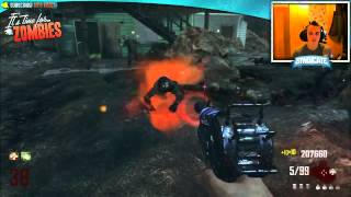 black ops 2 zombies nuketown round 41 gameplay bus depot livestream w syndicate