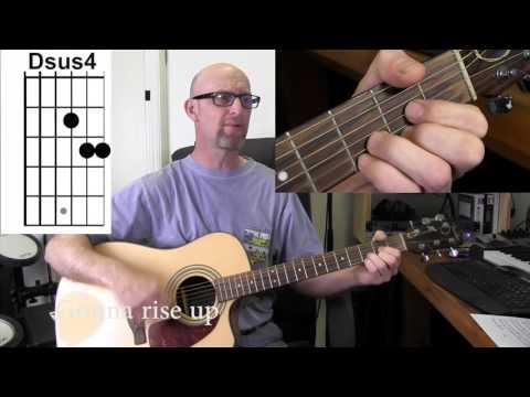 EDDIE VEDDER (Pearl Jam) - RISE  Acoustic guitar tutorial with chords/lyrics