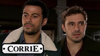Coronation Street - Luke & Andy Inform Jamie's Boss Of His Revenge Porn Habits