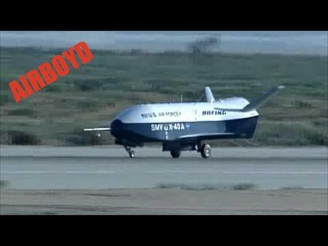 NASA X40 Scaled X37 Orbital Test Vehicle Drop Tests