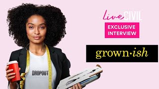 Exclusive Grown-ish Interview | Season 3 | Live Civil