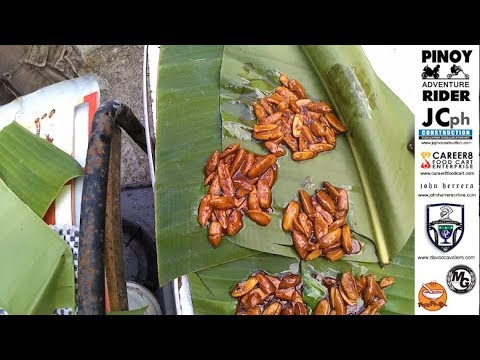 Pinoy Pili Nut Candy Cooked at the Backyard by Chef Alan