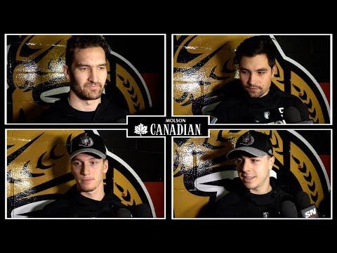 Jan 5: Sens vs. Sharks - Player Pregame Media