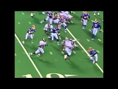 1996 SEC Championship Game - #11 Alabama vs. #4 Florida Highlights